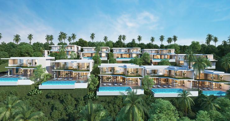 New Ultra Modern Luxury Sea view Villas in Bophut Hills-10
