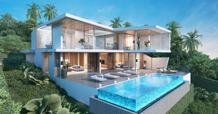 New Ultra Modern Luxury Sea view Villas in Bophut Hills-2