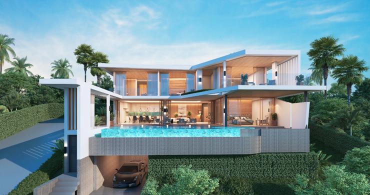 New Ultra Modern Luxury Sea view Villas in Bophut Hills-4
