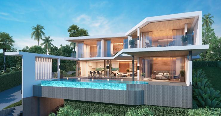 New Ultra Modern Luxury Sea view Villas in Bophut Hills-1