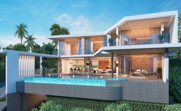 New Ultra Modern Luxury Sea view Villas in Bophut Hills