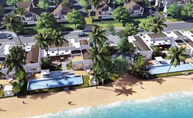 New 3 Bed Beachside Sea view Pool Villas in Bangrak