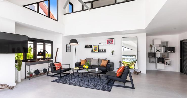 Hot Priced 4 Bed Modern Pool Villa in Bophut Hillside-2