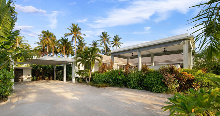 Hot Priced 4 Bed Modern Pool Villa in Bophut Hillside-19