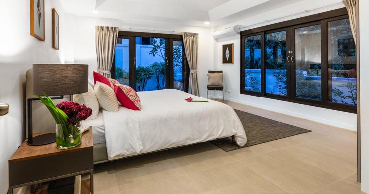 Hot Priced 4 Bed Modern Pool Villa in Bophut Hillside-14