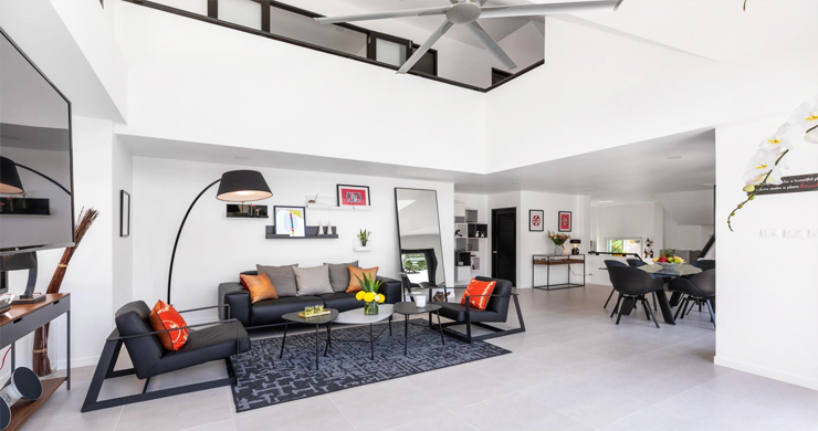 Hot Priced 4 Bed Modern Pool Villa in Bophut Hillside-4