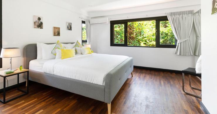 Hot Priced 4 Bed Modern Pool Villa in Bophut Hillside-11
