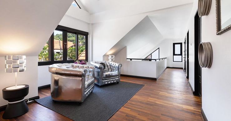 Hot Priced 4 Bed Modern Pool Villa in Bophut Hillside-8
