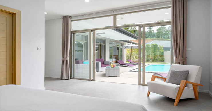 New Modern 3 Bed Private Pool Villa in Tranquil Lamai-16