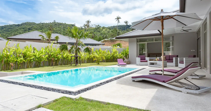 New Modern 3 Bed Private Pool Villa in Tranquil Lamai-18