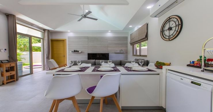 New Modern 3 Bed Private Pool Villa in Tranquil Lamai-5