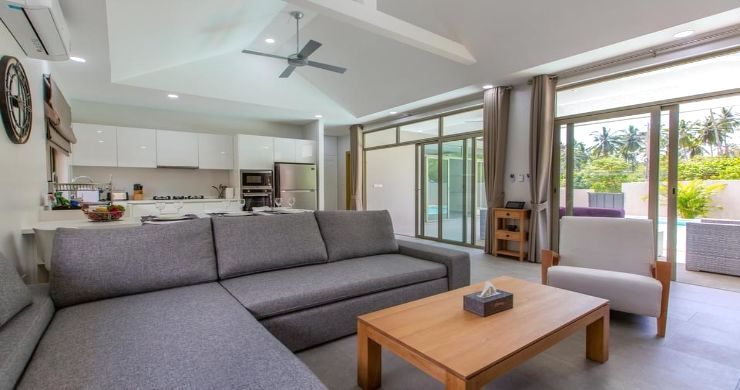 New Modern 3 Bed Private Pool Villa in Tranquil Lamai-6
