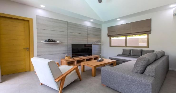 New Modern 3 Bed Private Pool Villa in Tranquil Lamai-7