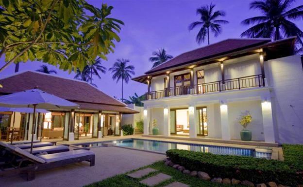 Beautiful Tropical 2-3 Bed Pool Villa by Bangrak Beach