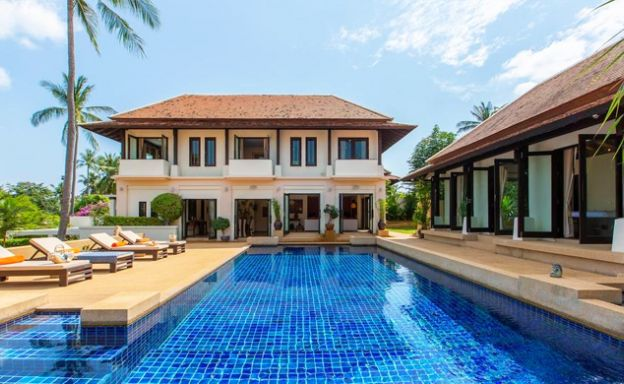 Palatial Tropical 4 Bed Pool Villa by Bangrak Beach