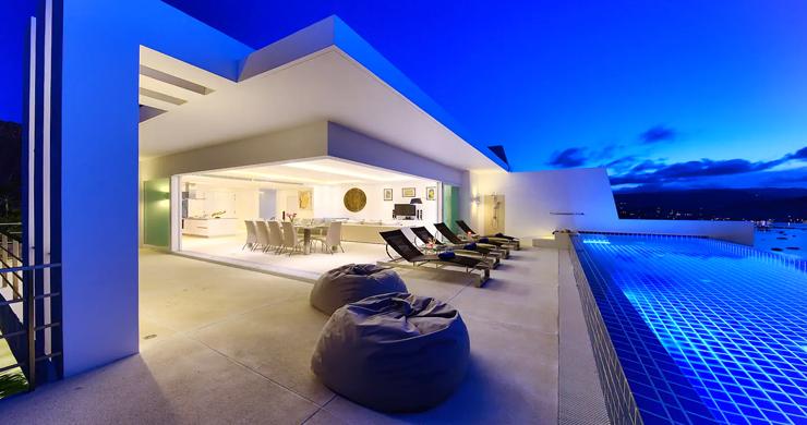 Unique 4 Bed Luxury Sea view Villa by Bangrak Beach-3