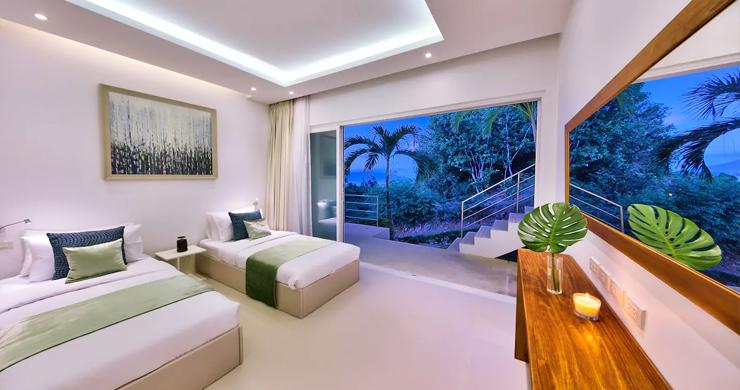 Unique 4 Bed Luxury Sea view Villa by Bangrak Beach-16