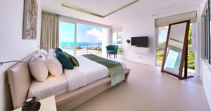 Unique 4 Bed Luxury Sea view Villa by Bangrak Beach-10