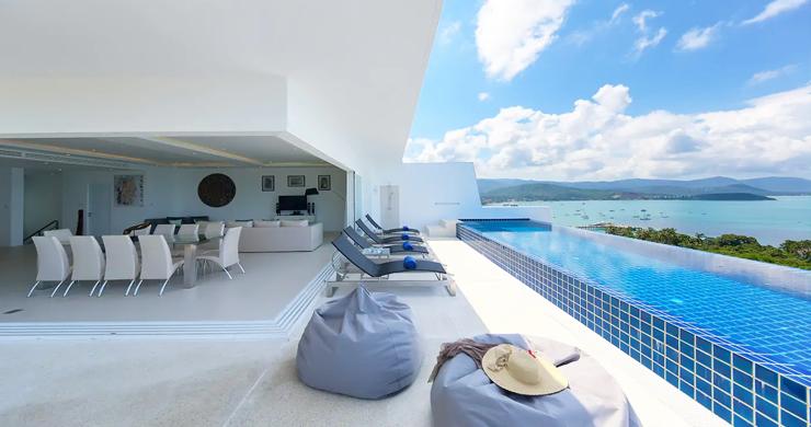 Unique 4 Bed Luxury Sea view Villa by Bangrak Beach-2