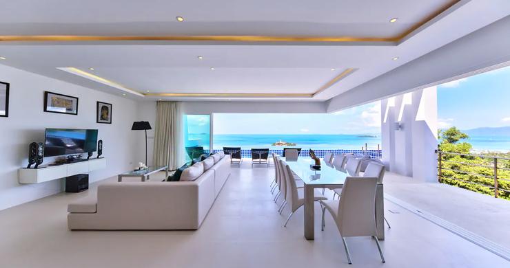 Unique 4 Bed Luxury Sea view Villa by Bangrak Beach-6
