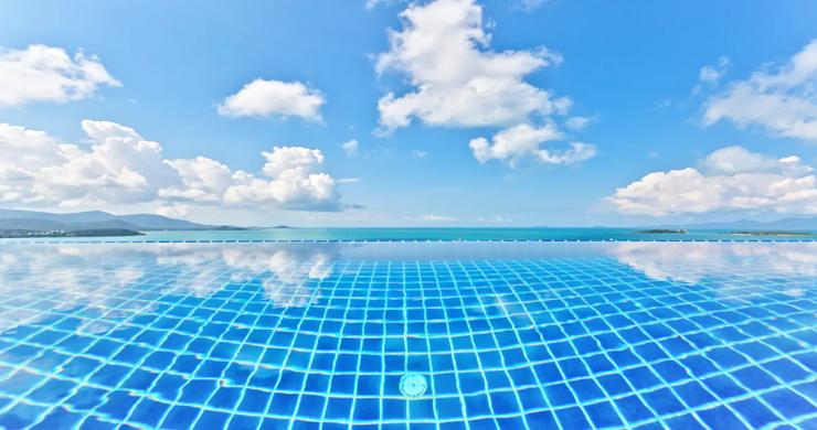 Unique 4 Bed Luxury Sea view Villa by Bangrak Beach-12