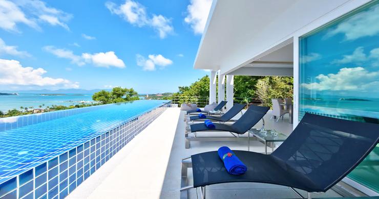 Unique 4 Bed Luxury Sea view Villa by Bangrak Beach-4
