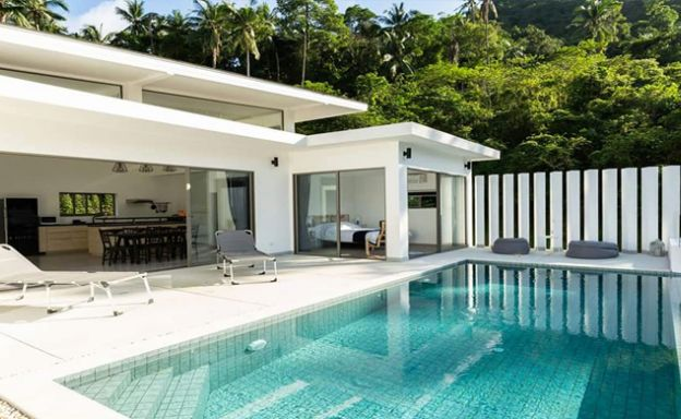 Modern Mountain View 3 Bed Pool Villa on Lamai Hills