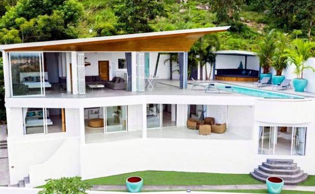 Superb Luxury 4 Bed Sea view Pool Villa on Bophut Hills