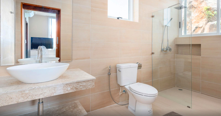 New Modern 2 Bed Sea View Villa in Bophut Hillside-12