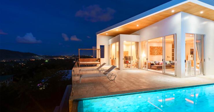 New Modern 2 Bed Sea View Villa in Bophut Hillside-17