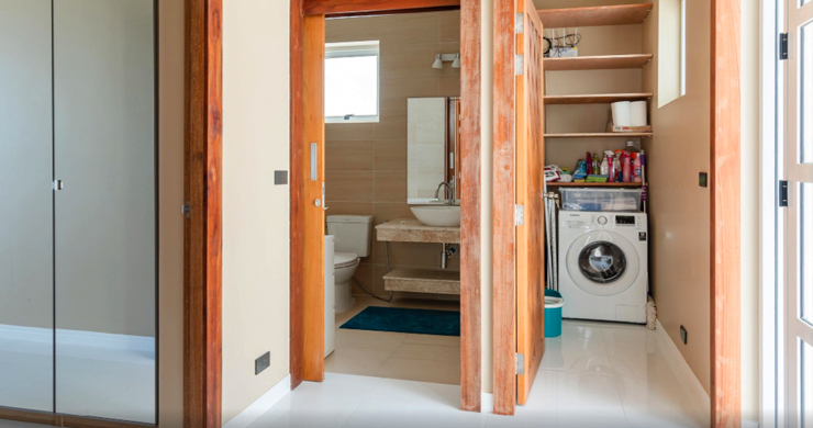 New Modern 2 Bed Sea View Villa in Bophut Hillside-11