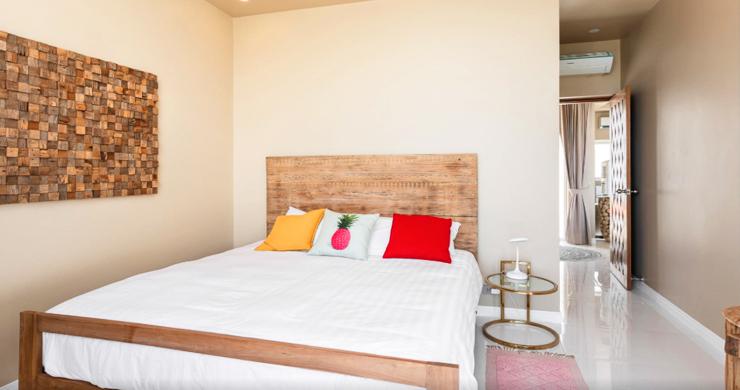 New Modern 2 Bed Sea View Villa in Bophut Hillside-5