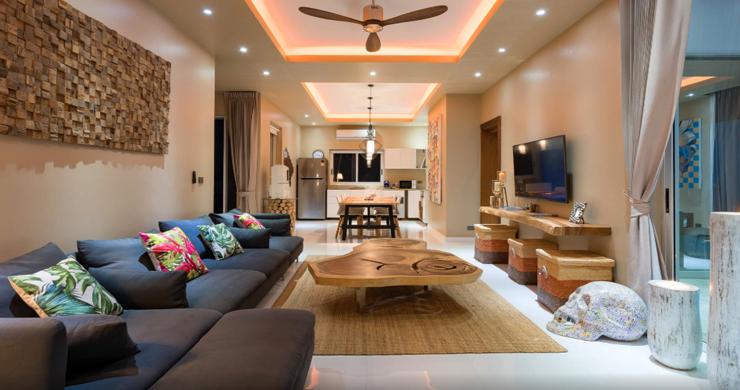 New Modern 2 Bed Sea View Villa in Bophut Hillside-14