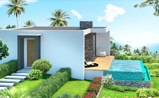Affordable 1 Bed Modern Pool Villas on Chaweng Noi