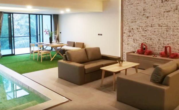 New 2 Bedroom Modern Pool Villas by Bangrak Beach