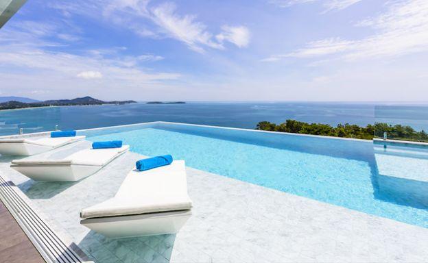 Ultra Luxury Sea view 6 Bed Villa on Chaweng Noi Peak