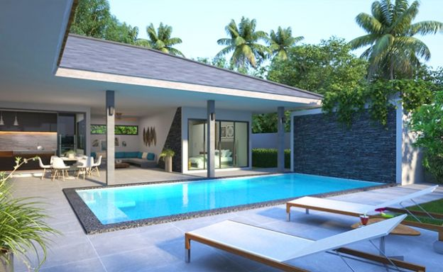 Affordable Modern 2-3 Bed Pool Villas for Sale in Lamai