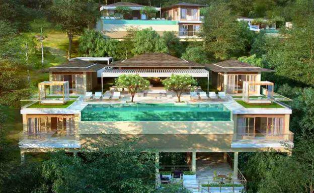 Oceanfront 4 Bedroom Luxury Villa in Koh Phangan