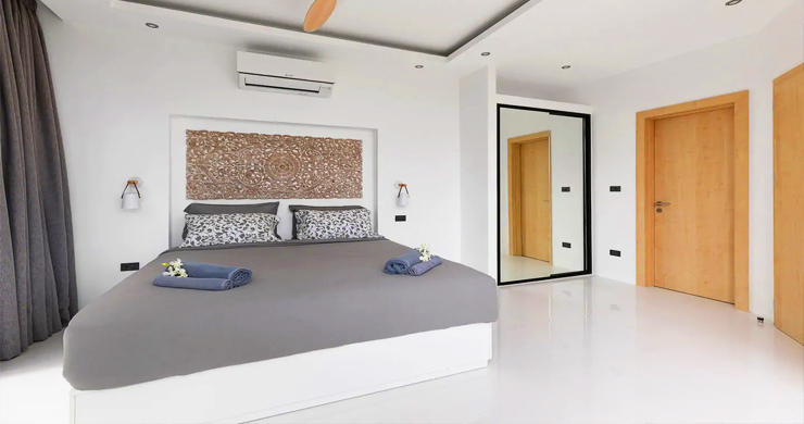 New Modern 3 Bed Private Pool Villa in Chaweng Hills-9