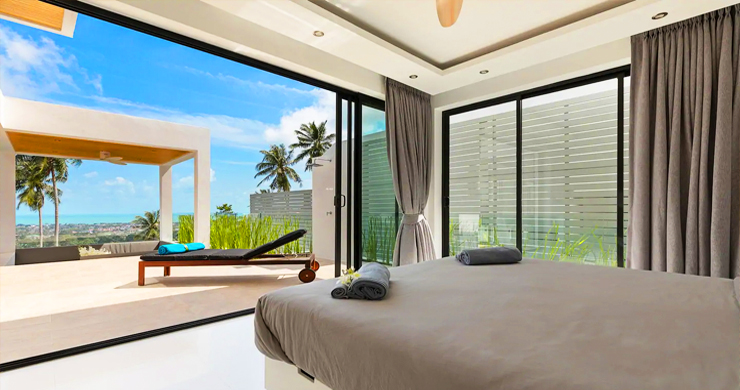 New Modern 3 Bed Private Pool Villa in Chaweng Hills-7