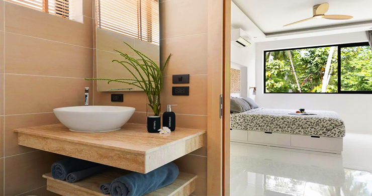 New Modern 3 Bed Private Pool Villa in Chaweng Hills-11