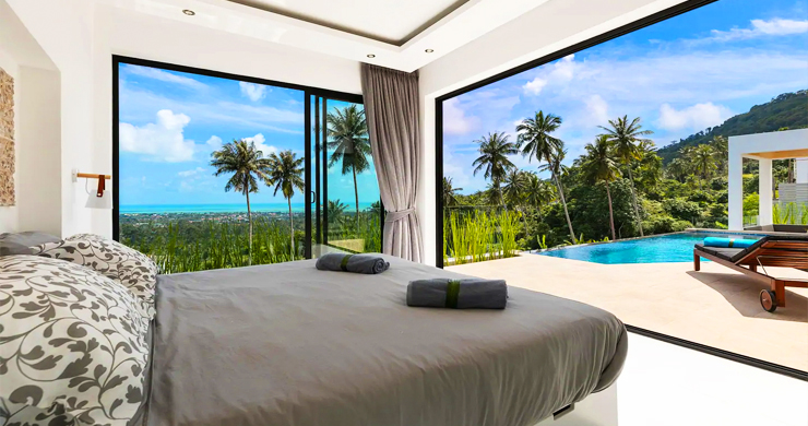 New Modern 3 Bed Private Pool Villa in Chaweng Hills-6