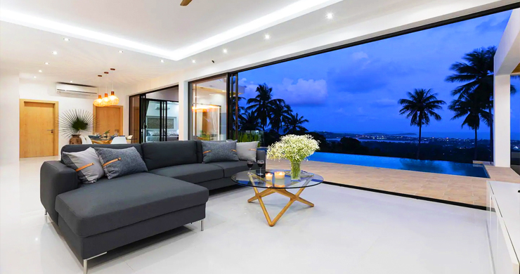 New Modern 3 Bed Private Pool Villa in Chaweng Hills-16