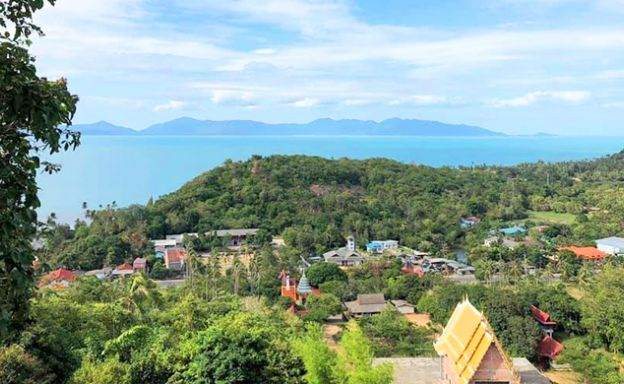Affordable Sea view Land for Sale on Ban Tai Hillside
