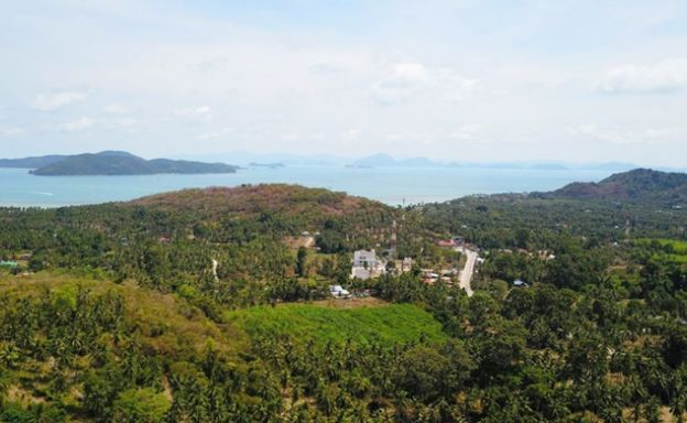 Sea view Land in Taling Ngam - 50% Under Market Value