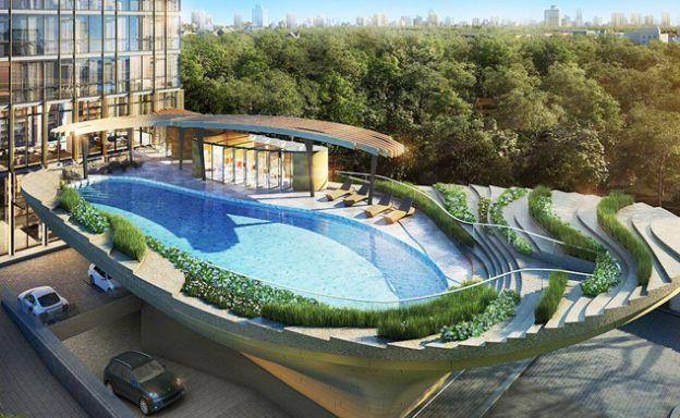 The Monument Ultra Modern Luxury Condo in Bangkok