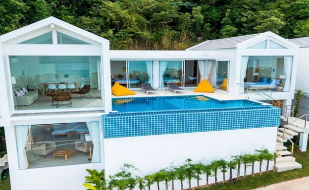 Bargain Modern 3-5 Bedroom Pool Villas on Bang Por Hills