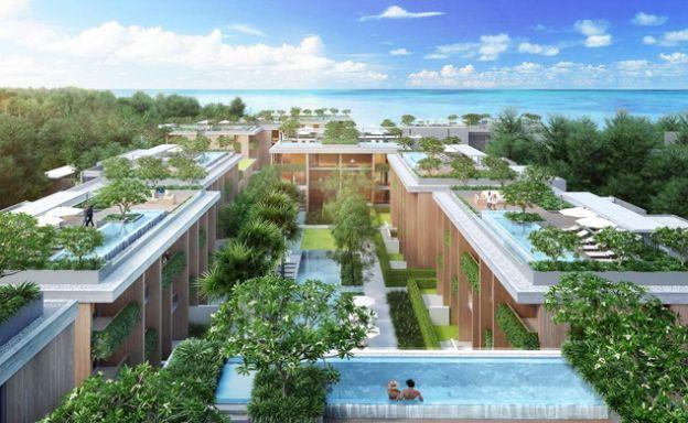 New Luxury 1-4 Bed Condos in Phuket Beach Resort