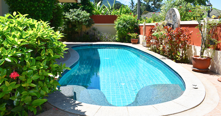Charming 3 Bed Tropical Pool Villa for Sale in Lipa Noi-4