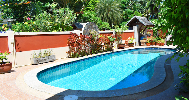 Charming 3 Bed Tropical Pool Villa for Sale in Lipa Noi-2